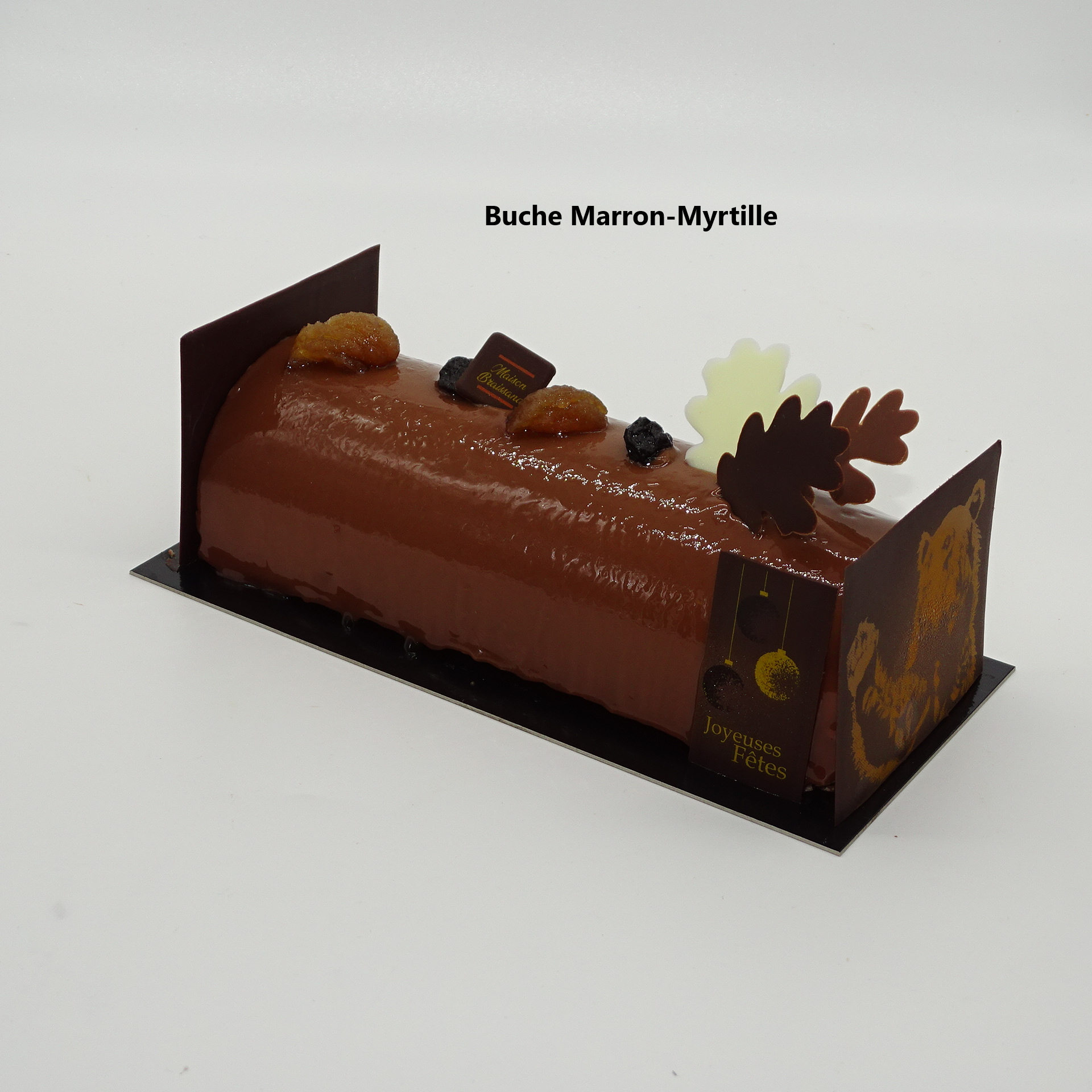 Buche Marron-Myrtille