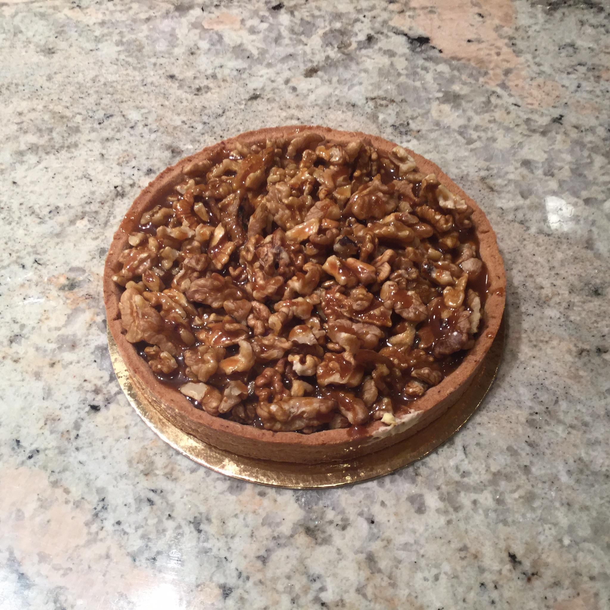tarte noix boulangerie patisserie maison braissand meribel