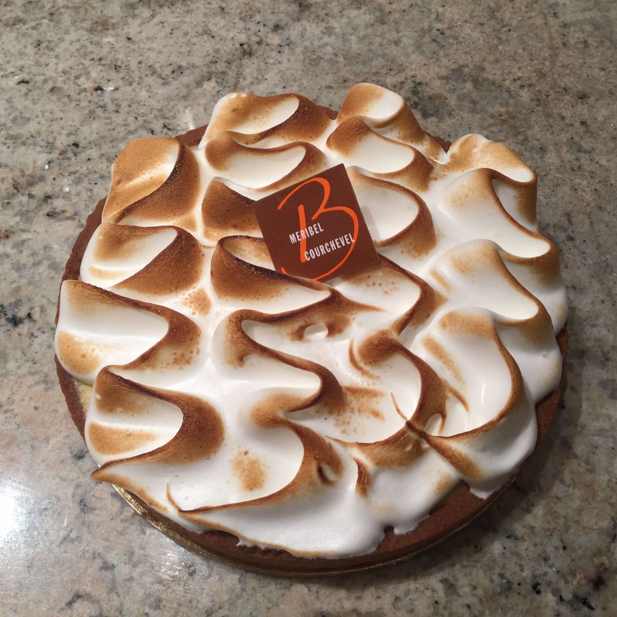 tarte au citron meringue boulangerie patisserie maison braissand meribel